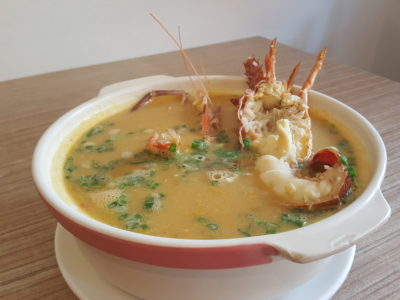 Wan He Lou New 5-Course Weekday Gourmet Lunch Set, Irresistible And Value-For-Money - Lobster Porridge