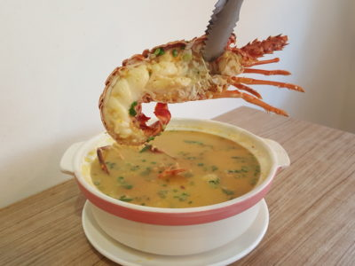 Wan He Lou New 5-Course Weekday Gourmet Lunch Set, Irresistible And Value-For-Money - Lobster in Lobster Porridge
