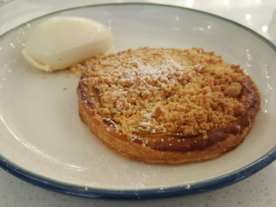 Venue By Sebastian By Ember's Former Chef Now Opened At Downtown Gallery - Pear Tart ($14)