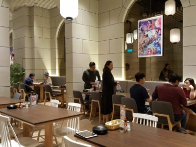 Shio & Pepe, Offering Japanese-Italian Cuisine At The Casual Dining Zone In Emporium Shokuhin - A view of interior