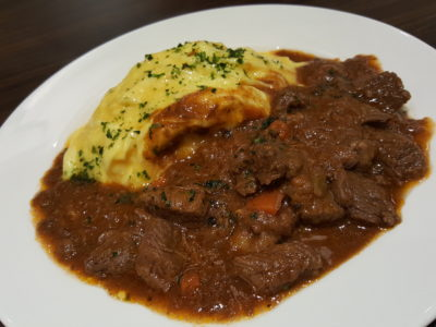 Shio & Pepe, Offering Japanese-Italian Cuisine At The Casual Dining Zone In Emporium Shokuhin - Wagyu Beef Stew Omu Rice ($22.80++)