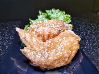Patbingsoo Korean Dining House at Plaza Singapura, One Stop Destination For South Korean Delights at Dhoby Ghaut, Singapore - Honey Garlic Chicken WIngs (S$11.90++)