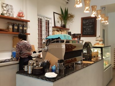 Groundstory Coffee & Craft, A Cafe And Retail For Artisan Craft At North Bridge Road - Counter
