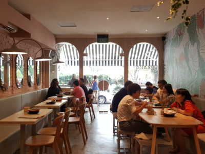 Kara Cafe & Dessert Bar By Sogurt Offering Healthier Option Mains At Bukit Timah - View from the back