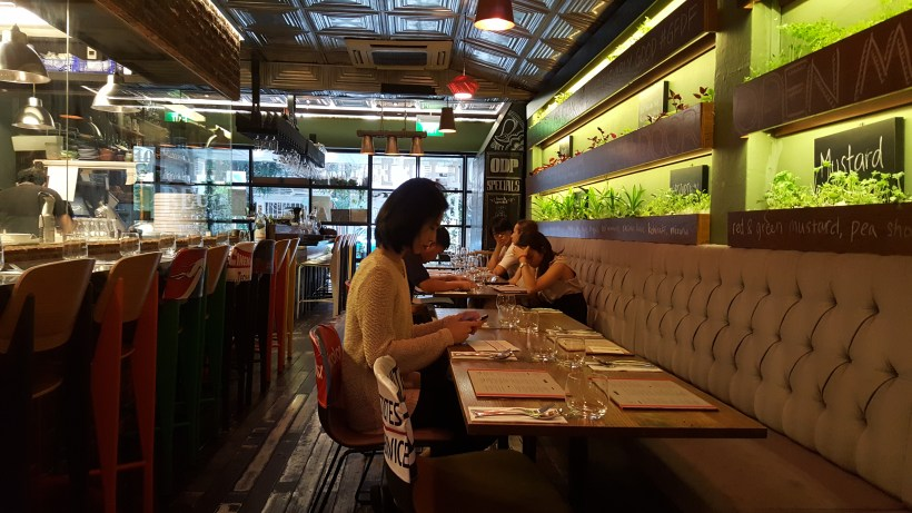 Open Door Policy Revamped Menu For 2017 At Tiong Bahru, Singapore - Interior