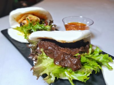 Irresistable Savings At The Inaugural Singapore Restaurant Festival 2017 - Umi + Vino Trio of Asian Sliders (S$18++)