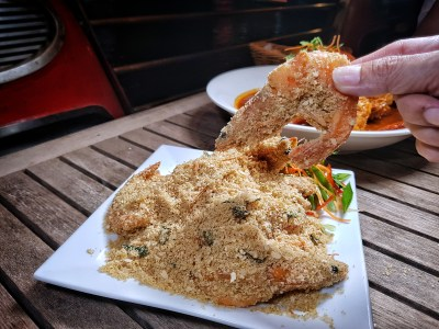 Irresistable Savings At The Inaugural Singapore Restaurant Festival 2017 - Fremantle Seafood Cereal Tiger Prawns (S$45++)