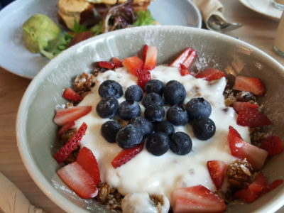 Craftsmen Specialty Coffee @ The Central, Their Forth Outlet - Healthy Granola Organic Soy Parfait Closed-up View