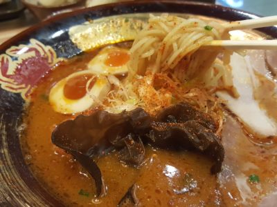 Ramen Keisuke Kani King At Cineleisure - Spicy Soup Broth