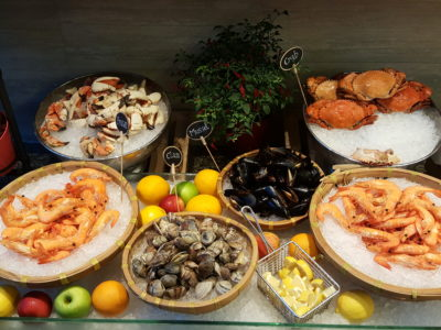 East Meets West Buffet At Makan @ Jen Of Hotel Jen Orchardgateway - Fresh Seafood