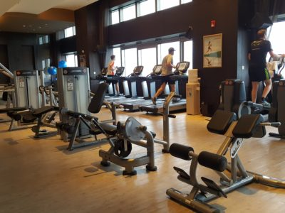 Shanghai Marriott Hotel Pudong East - Gym