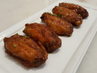 Yummo Chow SG At NuVe Heritage In Bugis - Sambal Teri Wings ($10)
