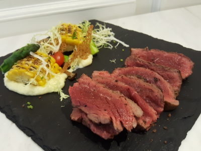 Yummo Chow SG At NuVe Heritage In Bugis - Beef Steak ($26)
