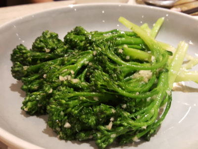 Blue Lotus @ Tanjong Pagar Centre, Delightful Dishes Well-Executed Dishes - Quick Fried Broccolini, Garlic ($12)