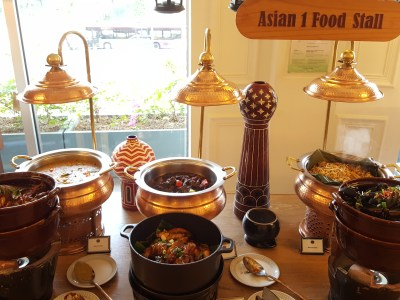 Asian Market Cafe @ Fairmont Singapore, Delicious Buffet Lunch Spread - Indian food