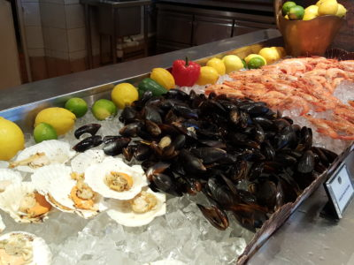 Asian Market Cafe @ Fairmont Singapore, Delicious Buffet Lunch Spread - Seafood