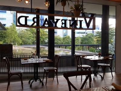 Vineyard At HortPark, Re-opened With Lushy Theme And Localised Menu - A view of indoor