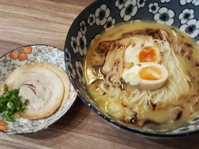 Flaming Don At Bugis Offering Value-For-Money Rice Bowls - Char Siew Ramen ($14.90)