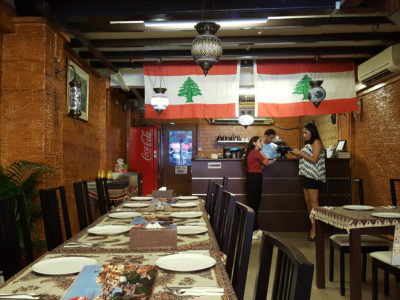 Byblos Grill Offering A Slice Of Lebanese To Singapore At Bussorah Street - Interior