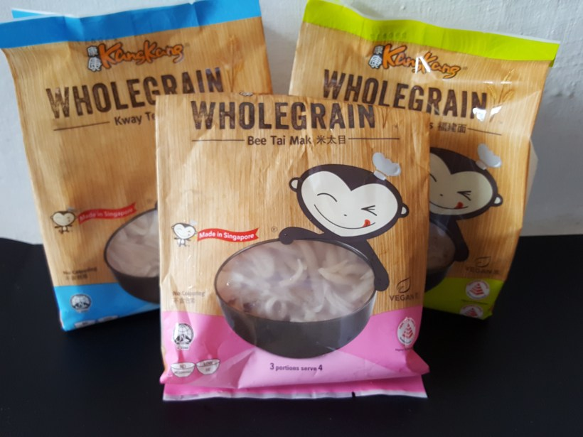 Kang Kang Wholegrain Noodles - Assorted Wholegrain Noodles