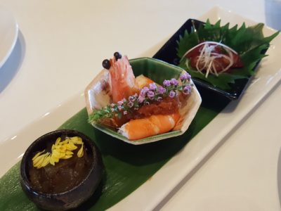 Shisen Hanten by Chen Kentaro 四川飯店 At Mandarin Hotel, A Two Michelin Star Restaurant - Appetiser