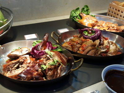 Sea & Blue Buffet Restaurant At Marina Bay Sands Offering Over 100 Dishes - Roast Meat