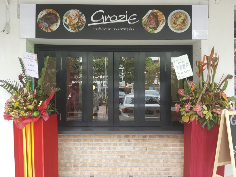Grazie Cafe At Whampoa West, Started As Hawkerpreneur at Serangoon Gardens - Facade
