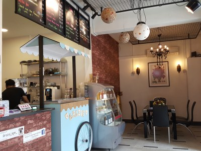 Grazie Cafe At Whampoa West, Started As Hawkerpreneur at Serangoon Gardens - Interior, at the Entrance