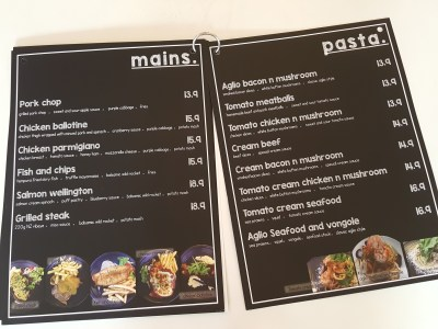 Grazie Cafe At Whampoa West, Started As Hawkerpreneur at Serangoon Gardens - More Menu