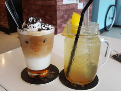 Grazie Cafe At Whampoa West, Started As Hawkerpreneur at Serangoon Gardens - Drinks