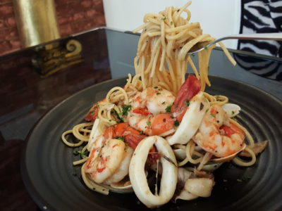 Grazie Cafe At Whampoa West, Started As Hawkerpreneur at Serangoon Gardens - Aglio Seafood and Vongole ($16.90)