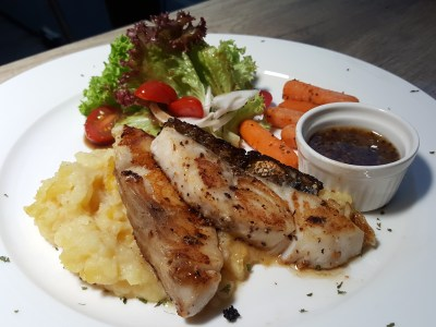 Tocha Bistro At Hotel Boss -Grilled Cod ($19.80)