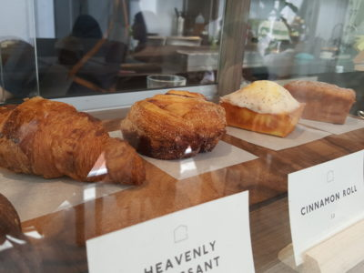 The Glasshouse Specialty Coffee & Toast Bar At Chijmes, Gorgeous Space - Pastries