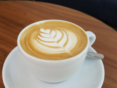 The Glasshouse Specialty Coffee & Toast Bar At Chijmes, Gorgeous Space - Cappuccino ($4)