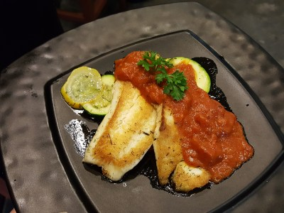 SOD Cafe @ Ci Yuan Community Club With Very Affordable Mainly Under $15 For Mains - Pan Seared Pinky Snapper ($13.50)