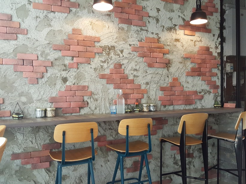 The Ding Ding Man Cafe At Yio Chu Kang Road - Interior Seats