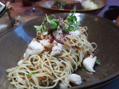 Montana Singapore New Menu For 2017 At PoMo, Getting Better And Better - Cold Crab Truffle Pasta ($21)