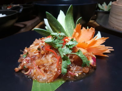 Marriott Cafe Launches Exotic Flavours of Thailand Buffet In Marriott Singapore Tang Plaza For A Limited Period - Spicy Pomelo Salad with Prawn