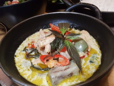 Marriott Cafe Launches Exotic Flavours of Thailand Buffet In Marriott Singapore Tang Plaza For A Limited Period - Green Curry with Chicken