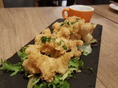 Half Pound Burger Bar & Grill At Purvis Street - Salt & Pepper Squid ($14)