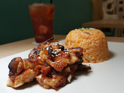 Food Lovers Only At IMM Serving Korean Fusion Items - Korean Marinated Chicken ($16.90)