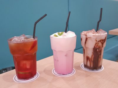 Food Lovers Only At IMM Serving Korean Fusion Items - Drinks