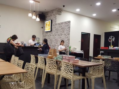 Caffe Zeppin At Midview City With An Array Of Offering - Interior, another view