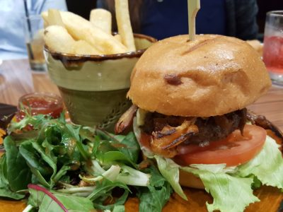 Porta Fine Food & Import Company At Park Hotel Clarke Quay, New Brunch Menu - Porta Burger (S$23++)