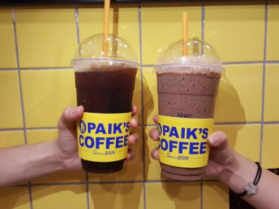 Paik Coffee, Value For Money Large Drinks And 1-For-1 Promotion - Iced Americano ($3) and Iced Chocolate Latte ($5)