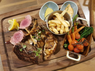 Blue Lotus Mediterranean Kitchen + Bar At Alexandra Road - Grilled Meat Platter ($38)