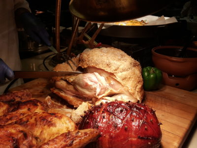 One Farrer Hotel & Spa Christmas Feasting 2017 At Escape Restaurant & Lounge - Roast Turkey