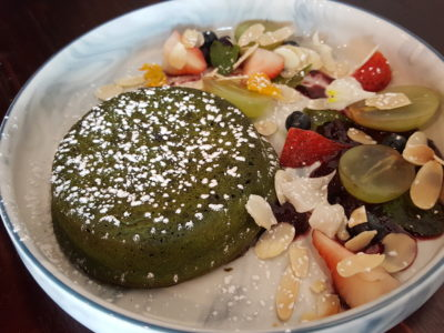 Thus Coffee, Cafe With Good Coffee & Food At Jalan Kuras - Berry Matcha Lava Cake ($15)