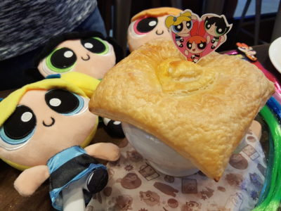 The Soup Spoon Union x Cartoon Network Cafe At Punggol Waterway Point Featuring Powerpuff Girls, Ben 10, Adventure Time and We Bare Bears - Powerpuff Potpie ($10.90)