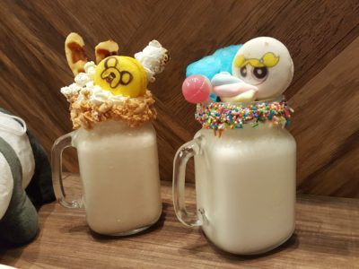 The Soup Spoon Union x Cartoon Network Cafe At Punggol Waterway Point Featuring Powerpuff Girls, Ben 10, Adventure Time and We Bare Bears - Milkshake ($14.90)